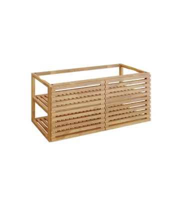 OFYR Storage insert PRO with 2 doors teak wood large