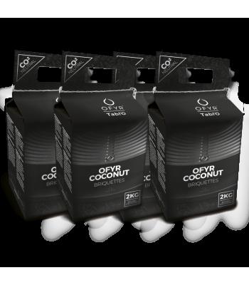 OFYR Tabl'O coconut briquettes 8KG