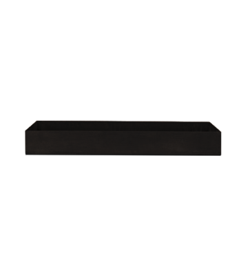 OFYR Wood storage insert black