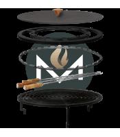 OFYR 100 Accessoires set grill premium met doofdeksel