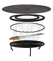 OFYR 100 Accessoires set grill premium plus
