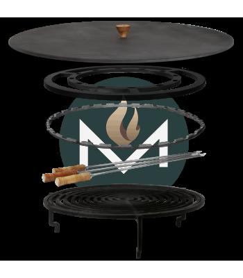 OFYR 100 Accessoires set grill premium met beschermdeksel